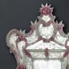 """""""Sofia"""" miroir vénitien rose"""