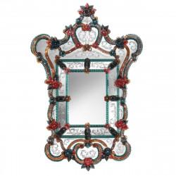 """Multicolor """"Livia"""" venetian mirror"""