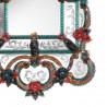 """""""Livia"""" espejo veneciano multicolor"""