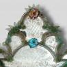 """Grün  """"Tamara """" venezianische spiegel"""