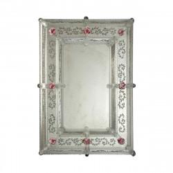 """""""Lorella"""" espejo veneciano transparente"""