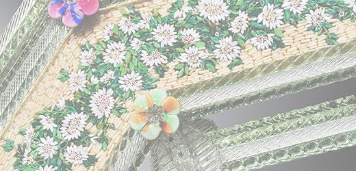 Venedig Mosaik Spiegel Detail